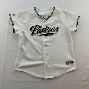 San Diego Padres Trevor Hoffman 51 Majestic Women's Jersey White Short Sleeve L