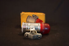 Old Vtg Meyer Cycle Rear Lamp #M-155 Unbreakable Ruby Lens With Original Box