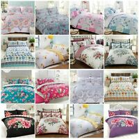 CLEARANCE SALE Flowers Range Duvet Set Duvet Cover Bedding Linen Set Quilt Cover