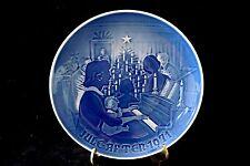 """B & G Bing & Grondahl Denmark Copenhagen """" Christmas At Home """" Plate 1971"""
