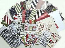 New!  SIMPLE STORIES [DIY Christmas] 12x12 Paper & Embellishments [A]   Save 60%