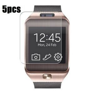 5 pack DZ09 smart watch screen protector 5 pack 1.54 inch screen protector