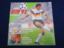 Duplo Hanuta Ferrero Album EM 1992 Euro 92, komplett, sehr gut/very good, rare