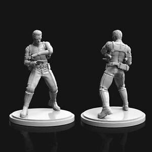 35 mm Albert Wesker Midnight fanart Resident Evil Miniature for Zombicide|DnD