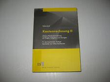 Kostenrechnung 2 von Lothar Haberstock, Volker Breithecker , 9. Aufl. (2004)