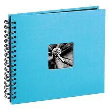 Spiral bound Scrapbook Photo Album, 28cm x 24cm 50 Pages, Turquoise