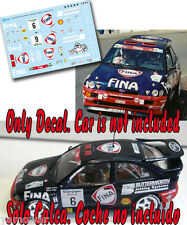 Decal 1:43 Bert de Jong - FORD ESCORT COSWORTH - Rally El Corte Ingles 1997