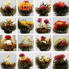 10Pcs/Pack Organic Chinese Green Tea Ball Blooming Flower Artisan Tea Best Gift