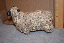 Royal Doulton PROTOTYPE Wensleydale Sheep English Made (Beswick Mold) Marked RD