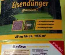 Eisendünger granuliert  Neu, optimierte Ausbringung, staubarm 25 Kg