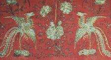 93x63cm China Stickerei chinese antique silk gold silver embroidery phenix