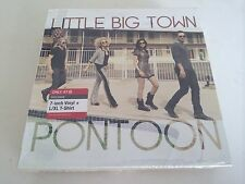 """Little Big Town Limited Edition 7"""" Vinyl Pontoon/Leavin' In Your Eyes & L/XL Tee"""