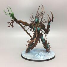WARHAMMER AGE OF SIGMAR WOOD ELVES SYLVANETH TREELORD ANCIENT TREEMAN PAINTED