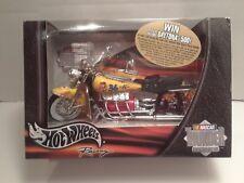 Mattel Hot Wheels M&M's 2002 #36 Ken Schrader Motorcycle NIB Nascar 1:18