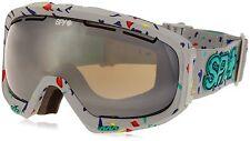 Spy Bias Snow Goggles Mystic Wind Brnz w Grn Spectra  incl Pouch Free Shipping
