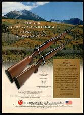 2002 RUGER M77 Mark II M77CR MKII Compact~Standard Rifle AD
