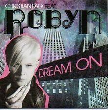 (618B) Christian Falk ft Robyn, Dream On - DJ CD