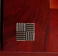 "Lot 50, 1-3/16"" Brass Plated Kitchen Cabinet Door Drawer Handle Pull knob K43BP"