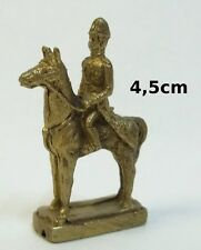 sculpture en bronze,personnage,guerrier à cheval,collection, décoration ***(72)