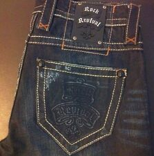 ROCK REVIVAL JEANS RUSSELL  STRAIGHT 31x32
