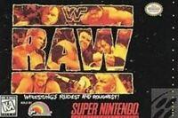 WWF Raw - Super Nintendo SNES Game Authentic