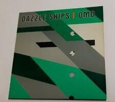 OMD DAZZLE SHIPS VINYL LP ORIGINAL C/W DIE CUT SLEEVE & INNER POUCH  ORCHESTRAL