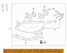 SUBARU OEM 09-13 Forester Headlight Head Light Lamp-Bracket Screw 010006167