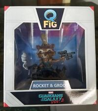 Marvel Guardians Of The Galaxy Vol 2 Rocket & Baby Groot Q Fig May Lootcrate New