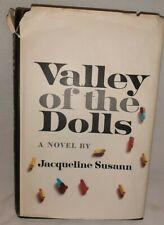 Valley Of The Dolls Jacqueline Susann 1966 Bernard Geis Associations