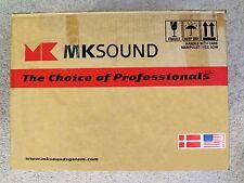 MK Sound SS-150 THX  ULTRA II,  MKII TRIPOLE SURROUND SPEAKERS  BLACK