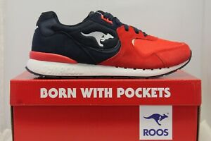 Mens KangaROOS Roos R2 Casual Classic Athletic Trainers Shoes 1CM00510