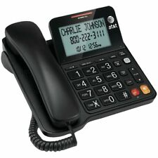AT&T Corded Speaker Telephone with LCD Display - Black (CL2940)  ™