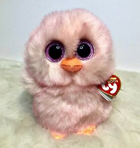 """Ty Beanie Boo 6"""" Feathers the Ombre Chick 2021 Easter Boo"""