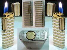 Briquet ancien { MYON Président Bi-Color } Vintage Lighter Feuerzeug Accendino