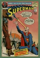 Superman #250~DC 1972~CLASSIC SUPERMAN Aging Cover~Neal Adams Art~FINE 6.0