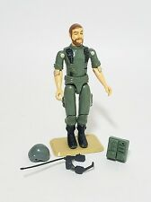 Vintage 1982 GI Joe Breaker Straight Arm Action Figure, Complete w Accessories