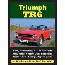 Triumph TR6 Road Test Portfolio book paper Car