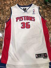 Youth XL New DS Stitched Reebok NBA Rasheed Wallace Detroit Pistons Away Jersey