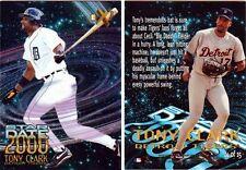 TONY CLARK INSERT CARD-1997 E-X STAR DATE 2000 #14-NM/MT-DETROIT TIGERS 1ST BASE