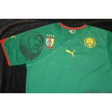 Cameroon 2010-2011 PUMA Home Football Shirt MEDIUM