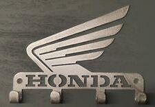 Honda Key / Coat Holder Key Rack 3mm steel 4 hooks house keys Organiser
