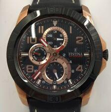 FESTINA Watch. Black Copper