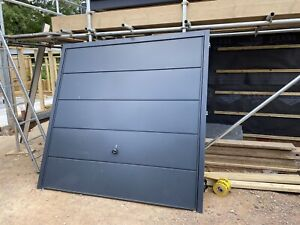 Up And Over Single Garage Door - Anthracite