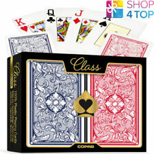 COPAG CLASS LEGACY BRIDGE SIZE JUMBO DOUBLE DECK 100% PLASTIC PLAYING CARDS NEW