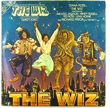 "2x 12"" LP - Various - The Wiz - Soundtrack - E61 - Booklett - cleaned"