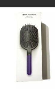 OEM Dyson Supersonic & Airwrap Accessories Paddle Brush Black/Purple NIB GIFT