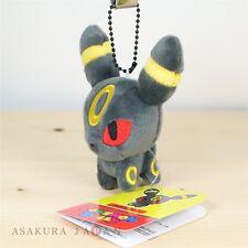 Pokemon Center Original POKEMON DOLLS Plush Mascot Key Chain Umbreon From Japan