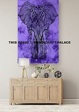 Elephant Design Wall Hanging Hippie Home Wall Decor Throw Indian Poster Tapestry