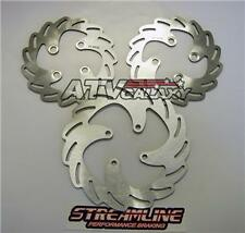 Streamline Front & Rear Blade Brake Rotors Yamaha YFZ450R YFZ450X All Years