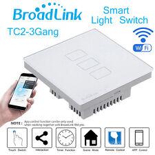 Broadlink Tc2 Smart App Automation Switch Original Three Touch Light Wall Panel